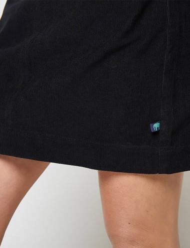 Mini-jupe velours côtelé Cursa