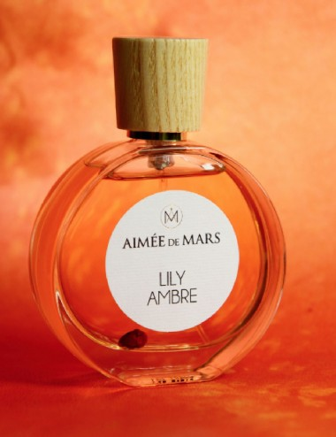 Parfum naturel Lily Ambre