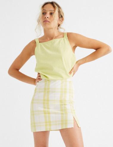 Mini-jupe à carreaux Checks...