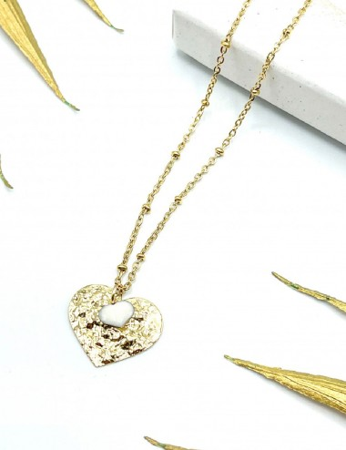 Collier coeur Two Love