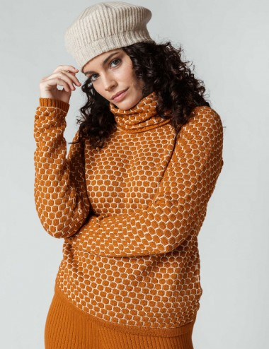 Pull col montant Igorre