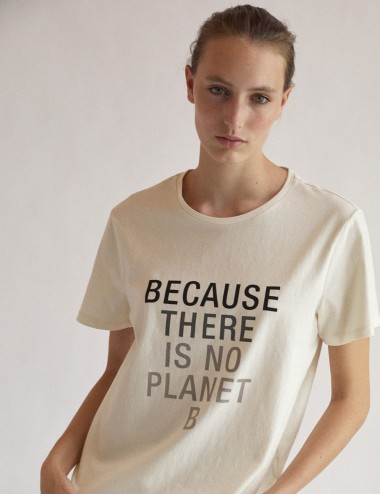 T-shirt coton bio Because