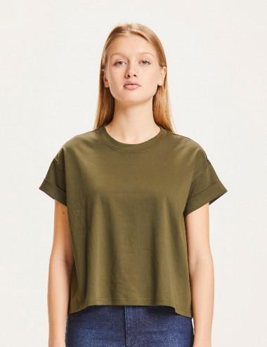 T-shirt ample à revers VIOLET