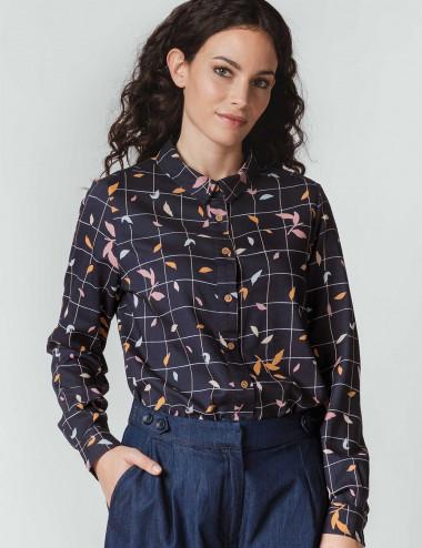Chemise à carreaux Asune
